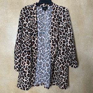 NEW Worthington | Cheetah Print Blazer size XL